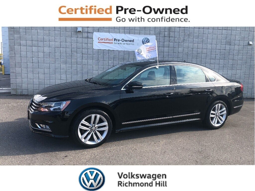 Certified Pre-Owned 2016 Volkswagen Passat 1.8 TSI Highline/Low Km's/CPO