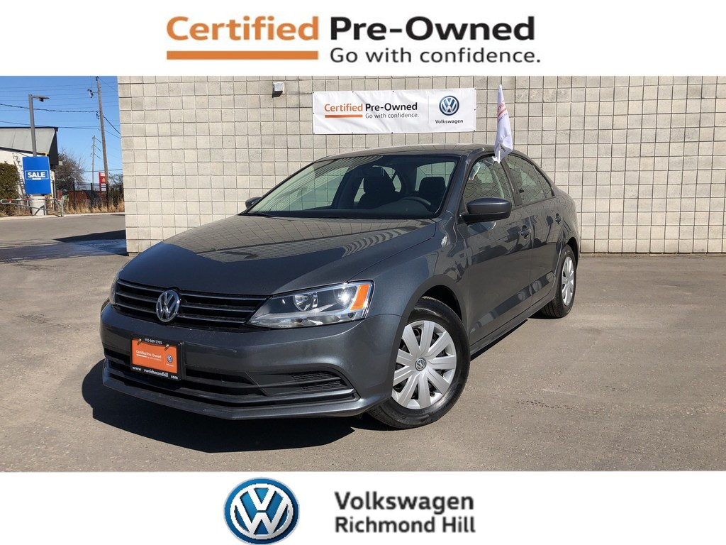 Certified Pre-Owned 2017 Volkswagen Jetta 1.4 TSI Trendline+ with 4 New Tires,CPO