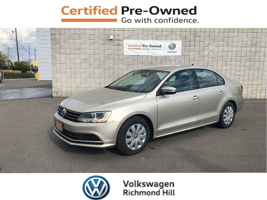 Certified Pre-Owned 2015 Volkswagen Jetta 2.0L Trendline+ with 4 New Tires/CPO