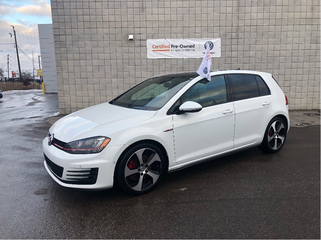Certified Pre-Owned 2016 Volkswagen GTI 5-Door Autobahn/CPO