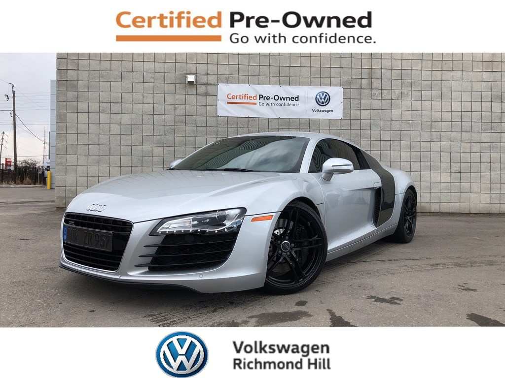 Pre-Owned 2009 Audi R8 4.2 (R tronic) premium/A MUST SEE VEHICLE