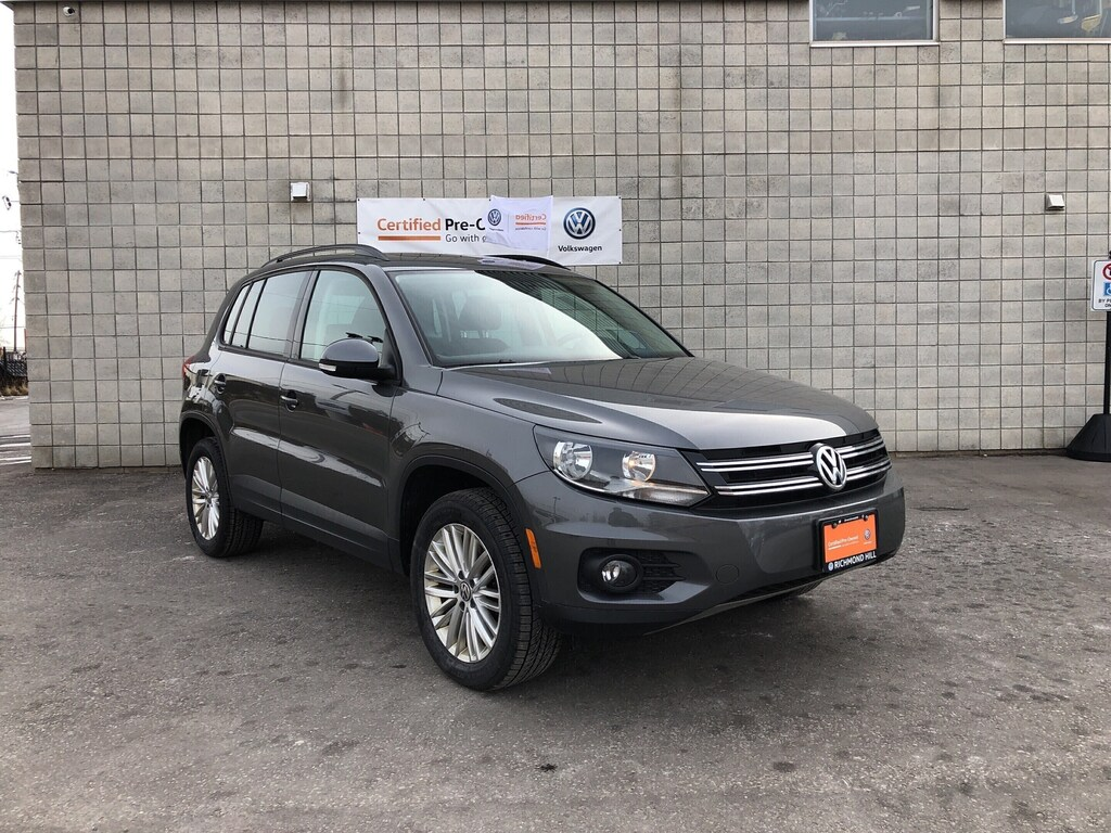 Certified Pre-Owned 2016 Volkswagen Tiguan Special Edition/Panoramic Sunroof/CPO