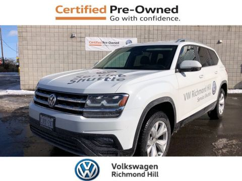 Pre-Owned 2019 Volkswagen Atlas 3.6 FSI Comfortline/Company Demo/New Programs
