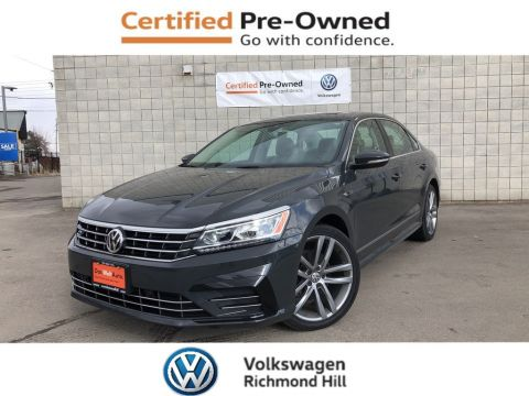 Certified Pre-Owned 2017 Volkswagen Passat Highline
