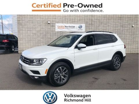 Certified Pre-Owned 2019 Volkswagen Tiguan Comfortline + Panoramic Sunroof/New Car Programs