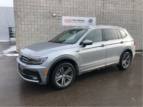 Pre-Owned 2020 Volkswagen Tiguan Highline 4MOTION/R-Line Package/New Car Programs