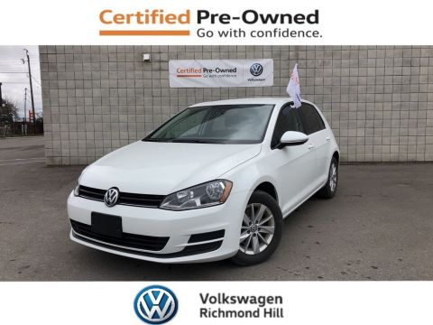 Certified Pre-Owned 2015 Volkswagen Golf 1.8 TSI Trendline