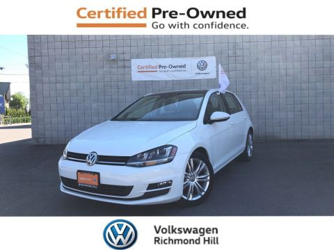 Certified Pre-Owned 2015 Volkswagen Golf 1.8 TSI Highline
