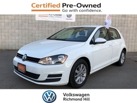 Certified Pre-Owned 2016 Volkswagen Golf 1.8 TSI Trendline/CERTIFIED PRE-OWNED