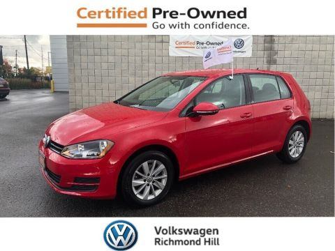 Certified Pre-Owned 2016 Volkswagen Golf 1.8 TSI Trendline/LOW KM'S/CPO