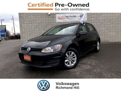 Certified Pre-Owned 2016 Volkswagen Golf 1.8 TSI Trendline including Winter Tires/CPO