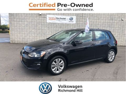 Certified Pre-Owned 2016 Volkswagen Golf 1.8 TSI Comfortline + Convenience Pkg/CPO