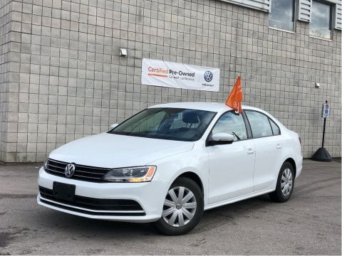 Certified Pre-Owned 2016 Volkswagen Jetta Sedan 1.4 Trendline+/Low Km's/Certified Pre-Owned