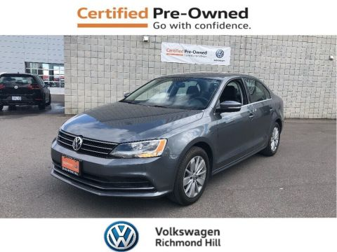 Pre-Owned 2015 Volkswagen Jetta 2.0L Trendline+ with Appearance Pkg