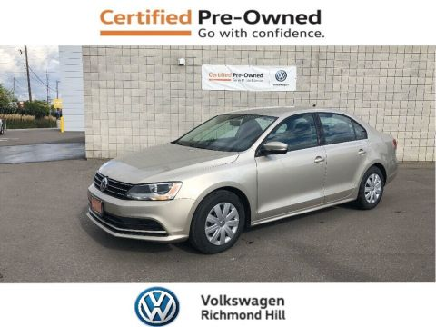 Pre-Owned 2015 Volkswagen Jetta 2.0L Trendline+ with 4 New Tires