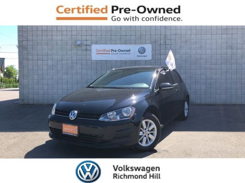 Certified Pre-Owned 2017 Volkswagen Golf 1.8 TSI Trendline
