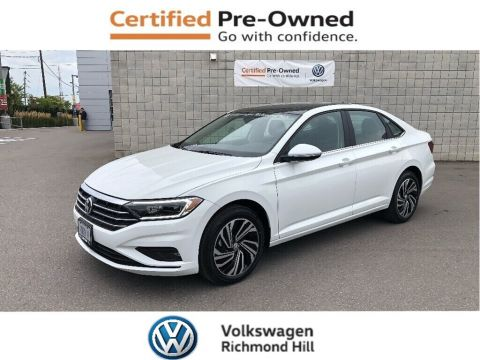 Certified Pre-Owned 2019 Volkswagen Jetta 1.4 TSI Execline + Winter Pkg/New Car Programs