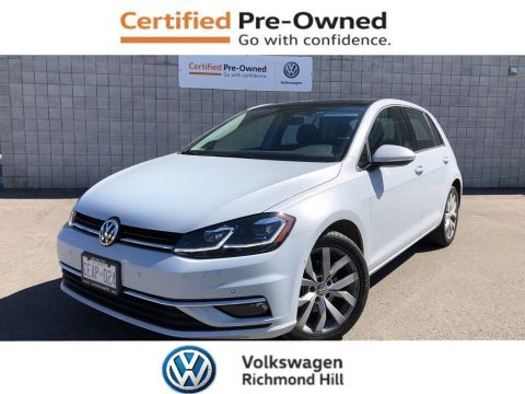 Certified Pre-Owned 2019 Volkswagen Golf 1.4 TSI Execline+Driver Asst Pkg/NEW CAR PROGRAMS