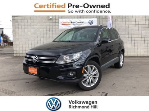Certified Pre-Owned 2015 Volkswagen Tiguan Highline