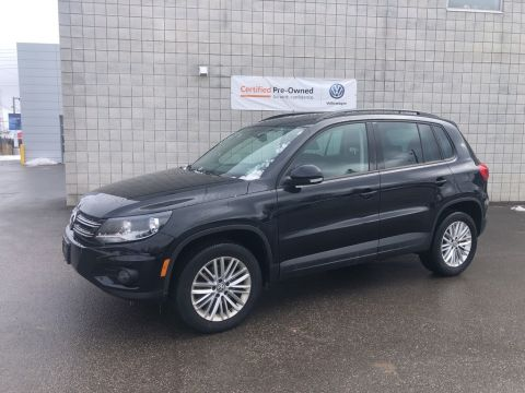 Certified Pre-Owned 2016 Volkswagen Tiguan 4MOTION Special Edition/Low Km's/Sunroof/CPO