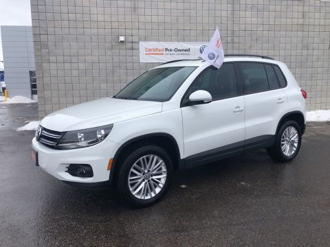 Certified Pre-Owned 2016 Volkswagen Tiguan 4MOTION 4dr Auto Special Edition/CPO