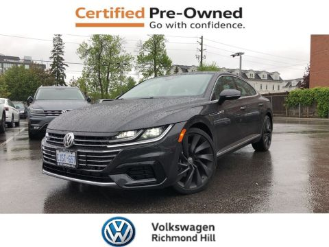 Pre-Owned 2019 Volkswagen Arteon 2.0 TSI/ Driver Assit Pkg/R-Line Pkg/New Car Rates