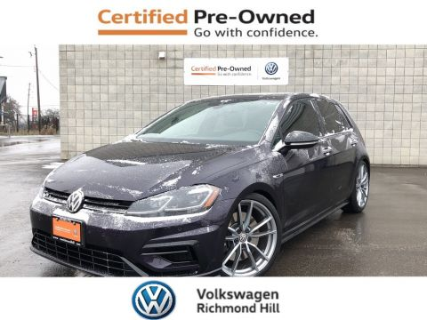 Certified Pre-Owned 2018 Volkswagen Golf R 2.0 TSI